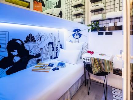 מלון WOM: מלון פודים חדש בתל אביב
