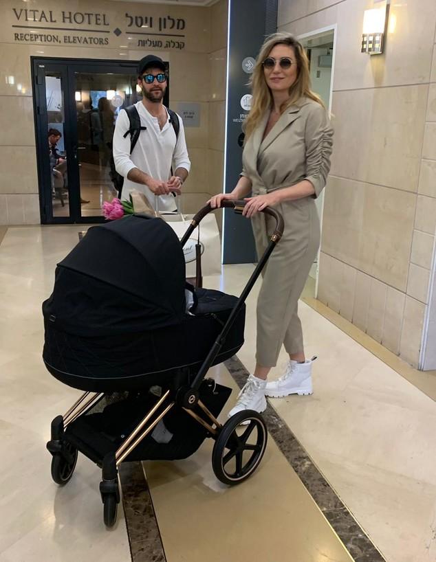 מיכל אנסקי יוצאת מבית החולים, פברואר 2020