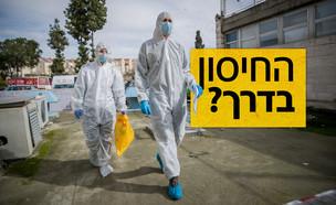 פריצת דרך ישראלית בדרך לפיתוח חיסון נגד הקורונה (צילום: פלאש 90, יונתן זינדל, פלאש 90)