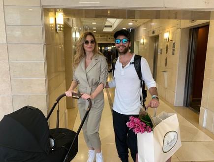 מיכל אנסקי ואייל אמיר השתחררו מבית החולים