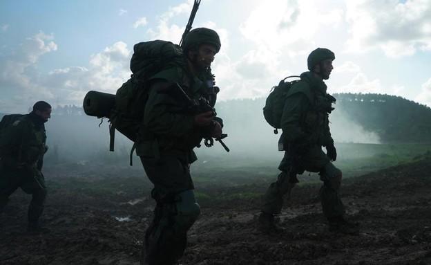 """פעילות הלוחמים (צילום: דובר צה""""ל )"""