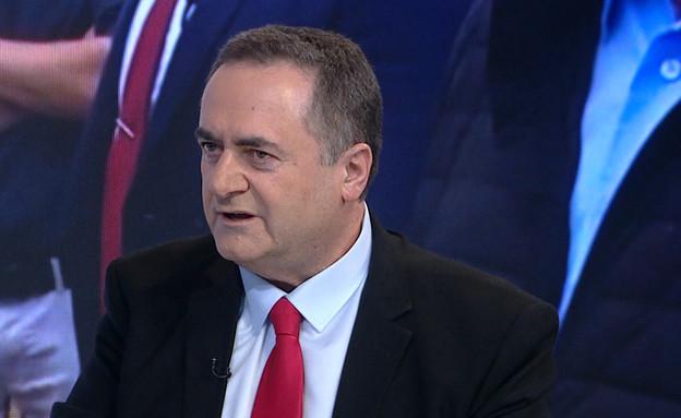 3 ימים לבחירות: ישראל כץ בראיון  (צילום: מתוך אופירה וברקוביץ', קשת 12)