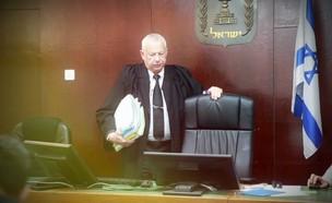 השופט עזריה אלקלעי (צילום: עובדה, קשת 12)