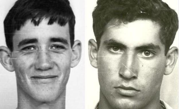 השניים ביום גיוסם לצבא (צילום: מפלגת הליכוד / חדשות 2 ארכיון)