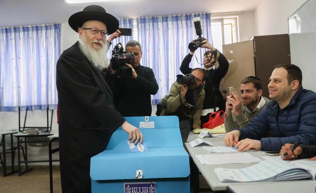 בחירות 2020, קלפי, יעקב ליצמן