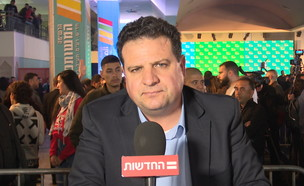 """ח""""כ איימן עודה (צילום: החדשות 12)"""