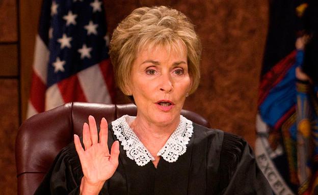השופטת ג'ודי (צילום: CBS Television)