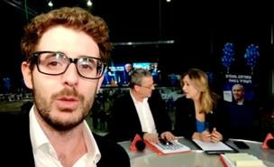 דקה לשידור: מאחורי הקלעים של משדרי הבחירות (צילום: N12)