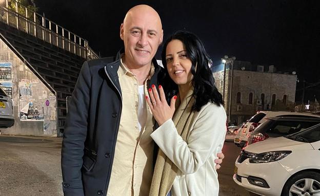 ירון אילן מציע נישואין, מרץ 2020 (צילום: פרטי)
