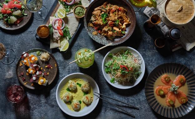 מסעדת פאפאסאן בגבעתיים (צילום: אנטולי מיכאלו, יחסי ציבור)