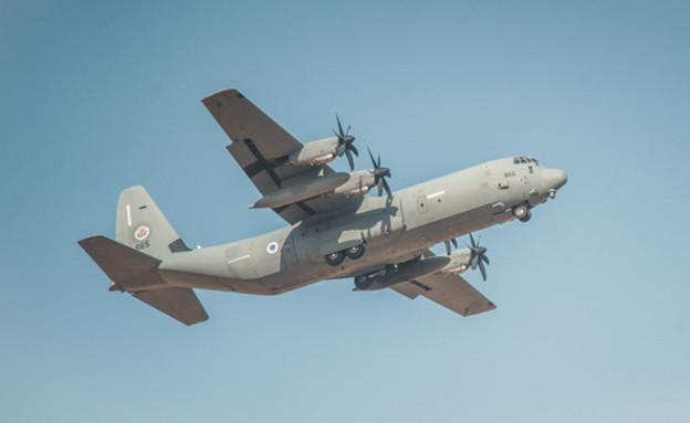מטוס חיל האוויר (צילום: אתר חיל האוויר)