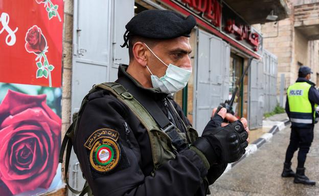 קורונה ברשות הפלסטינית (צילום: ויסאם השלמון, פלאש 90)