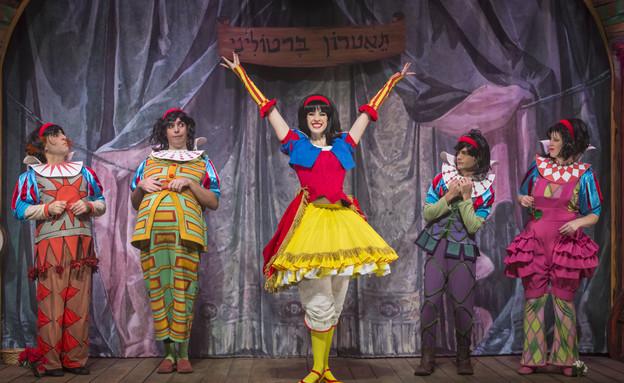 שבעת הגמדים ושלגיה (צילום: כפיר בולטין, תיאטרון אורנה פורת לילדים ונוער)