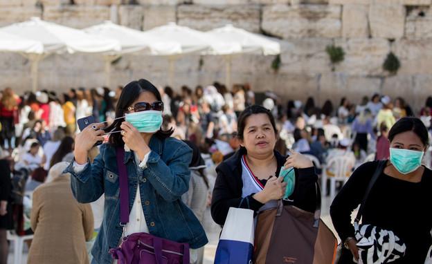 נגיף הקורונה בישראל (צילום: אוליבר פיטוסי , פלאש 90)
