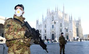 סגר כללי בצפון איטליה בגלל קורונה (צילום: רויטרס)