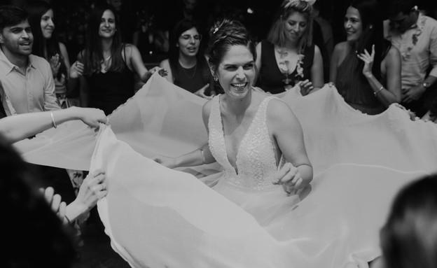 אלבום החתונה של דנית ואמיר (צילום: לירון סער)