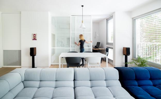 משרד ביתי 3, עיצוב דלית לילינטל (צילום: גלית דויטש)