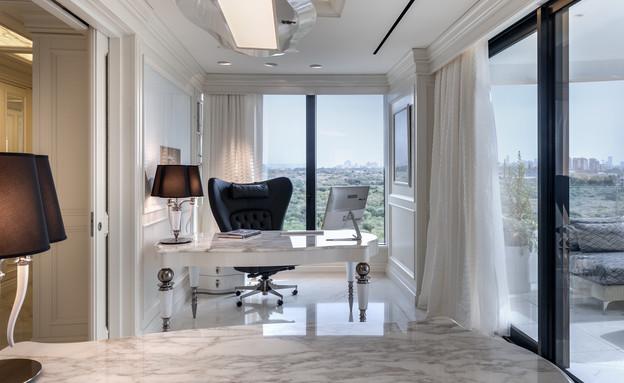 משרד ביתי 5, עיצוב גרשון צור ואלדד מיטלמן (צילום: עודד סמדר)