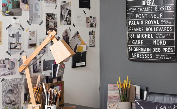 משרד ביתי 10, מתוך הספר פינה משלך, עיצוב רויטל רודצקי (צילום: מאיה חבקין)