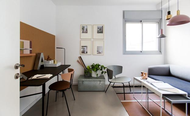 משרד ביתי 1, עיצוב יונית שטרן (צילום: שירן כרמל)