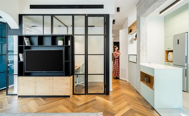 משרד ביתי 3, עיצוב RUST Architects (צילום: יואב פלד)