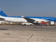 מטוס ראש הממשלה (צילום: החדשות12)