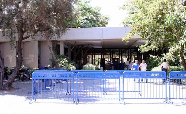 בית המשפט המחוזי בתל אביב (צילום: עודד קרני, אתר קשת)