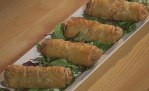 אגרול צמחוני (צילום: אמהות מבשלות ביחד, ערוץ 24 החדש)