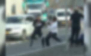 תקרית אלימה בכניסה לירושלים
