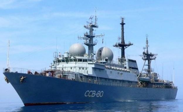 ספינת ריגול רוסית (צילום: topwar_ru)