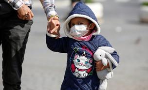 קורונה - ילדים (צילום: reuters)
