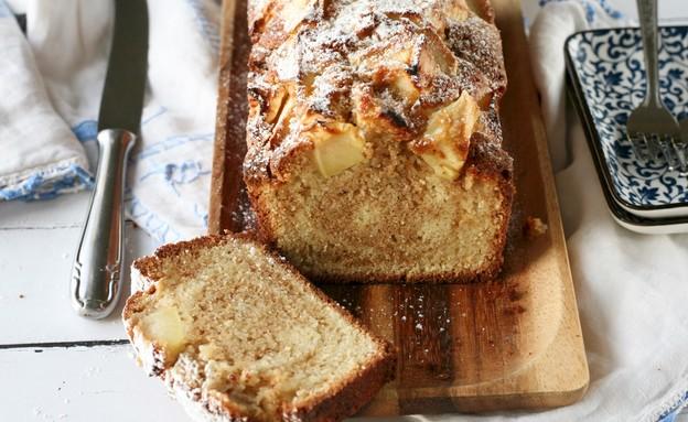 עוגת שיש תפוחים וקינמון  (צילום: קרן אגם, אוכל טוב)