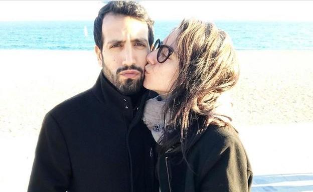 סופיה טייב ובן הזוג. מרץ 2020