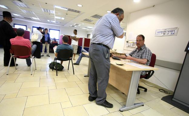 לשכת אבטלה (צילום: Yossi Zamir/Flash90)