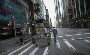 ניו יורק נסגרת (צילום: AP)