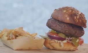 המבורגר (צילום: אמהות מבשלות ביחד, ערוץ 24 החדש)