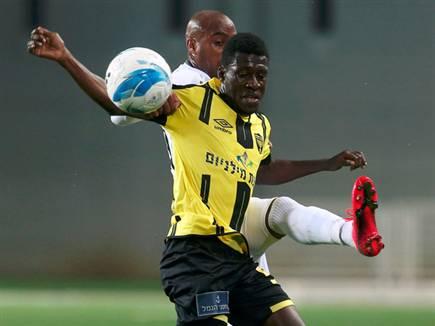 לא ייצא עם נבחרתו למוקדמות אליפות אפריקה. מוחמד (צילום: אלן שיבר)