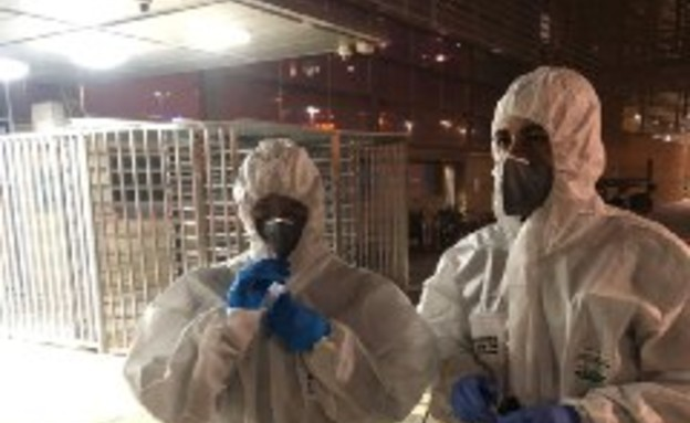 מעצר חולה שלפי החשד נדבק בקורונה ברכבת בבאר שבע