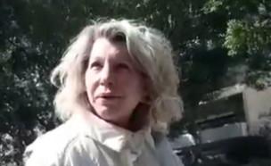 רונית אשכנזי למפגינים: כחול לבן לא תלך עם הערבים