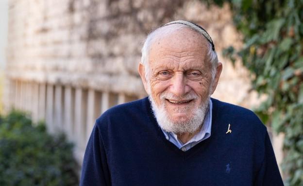 פרופסור הלל פורסטנברג מהאוניברסיטה העברית (צילום: יוסף אדסט)