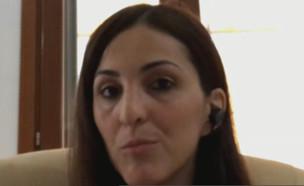 """עדי וייס-פינק מדווחת על המצב הקשה באיטליה  (צילום: מתוך """"חדשות הבוקר"""" , קשת 12)"""
