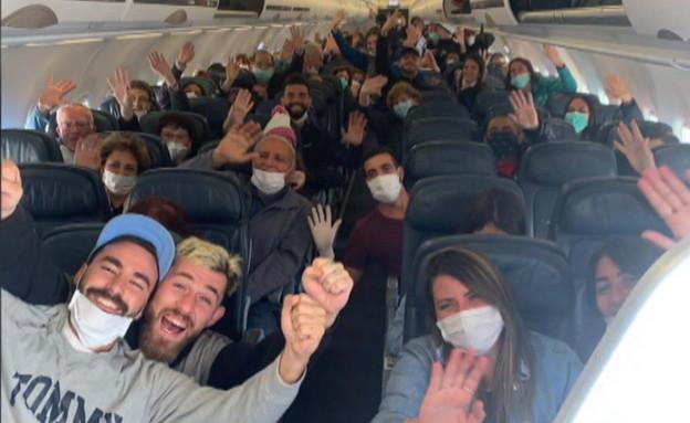 הישראלים שנתקעו בפרו חוזרים הביתה