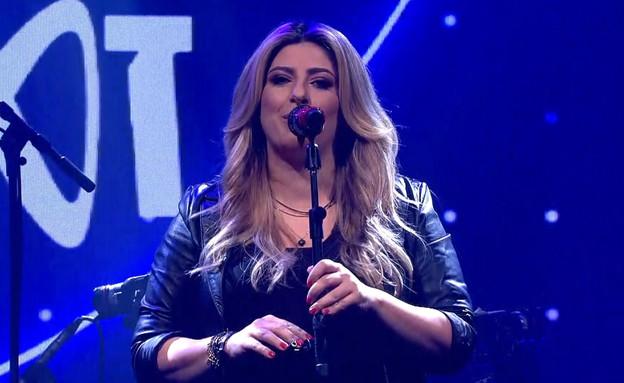 שרית חדד בהופעה בלייב בזאפה (צילום: N12)