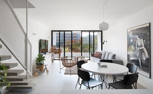 דירה בתל אביב, עיצוב דפנה גרבינסקי - 1 (צילום: שירן כרמל)