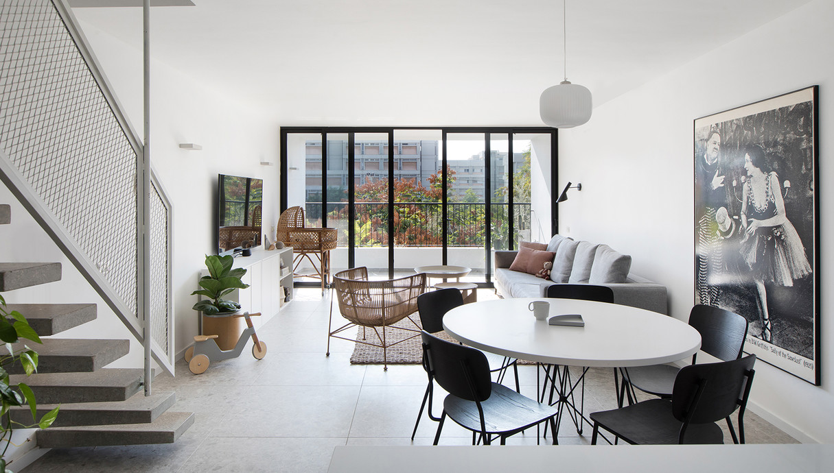 דירה בתל אביב, עיצוב דפנה גרבינסקי - 1