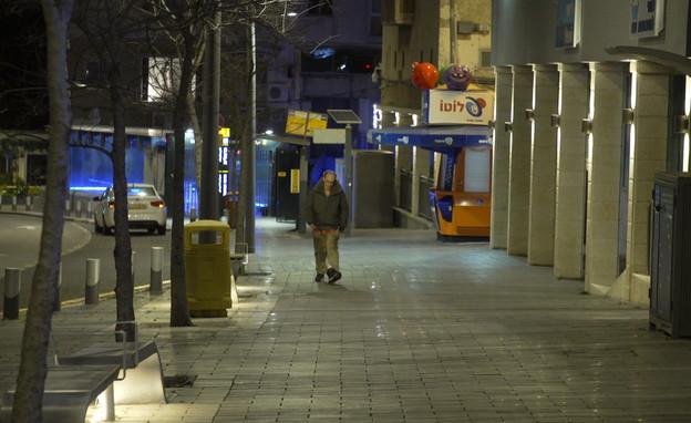 מדינה בהפסקה: כך נראים הרחובות הריקים של ישראל 
