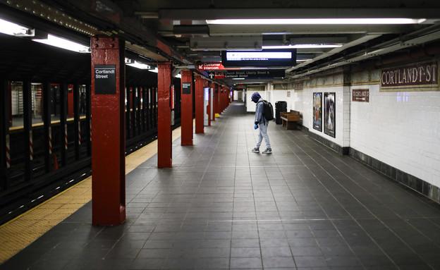 ניו יורק נטושה במשבר הקורונה (צילום: ap)