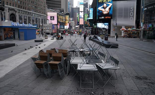 ניו יורק נטושה במשבר הקורונה