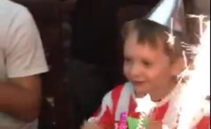 בגלל הקורונה: לאון חגג יום הולדת וירטואלי בבידוד (צילום: @franlasta, twitter)