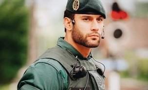 חייל ספרדי בסגר הקורונה (צילום: Facebook ; Joe Campbell)
